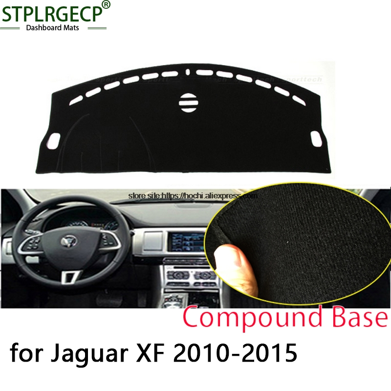 2010 Jaguar Xf Interior: STPLRGECP Double Layer Black Dash Mat For Jaguar Xf 2010