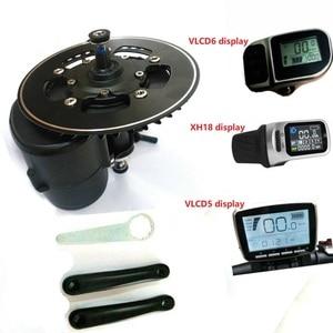 EU no tax 36/48V/52V 250w/350/500W/750W TONGSHENG TSDZ2 Central Motor Mid Drive Motor eBike Kit Torque Sensor