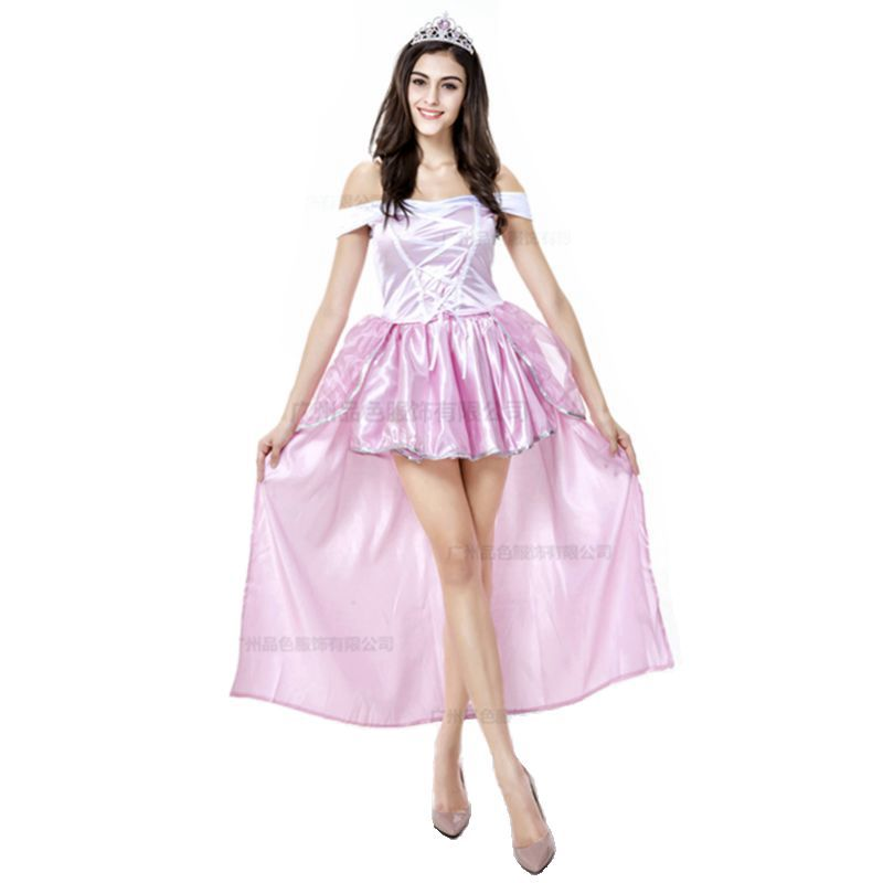 sleeping beauty adult snow white halloween costume princess sissy dress adult one piece cosplay sexy halloween - Beauty Halloween Costume