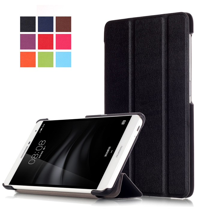 PU Leather Stand Cover Case For Huawei M2 Lite 7.0 (MediaPad T2 7.0 Pro) 7