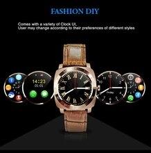 Freies Verschiffen Bluetooth Smartwatch Pedometer Für Android-Handy Mit Kamera Unterstützung Sim-karte Smart Uhr PK GT08 DZ09 U8