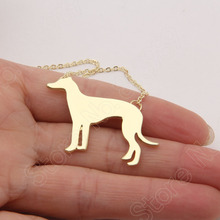 1pcs Greyhound Choker Necklace Necklaces & Pendants Cute Gold Choker Necklace Women Pendant Necklace Statement Charms Lead Free