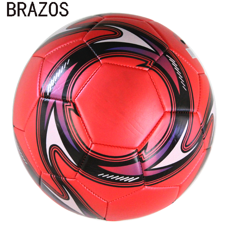 Professional Leather Soccer Ball Size 5 Official Soccer Training Football Ball Competition Outdoor Foot Game Futebol Voetbal