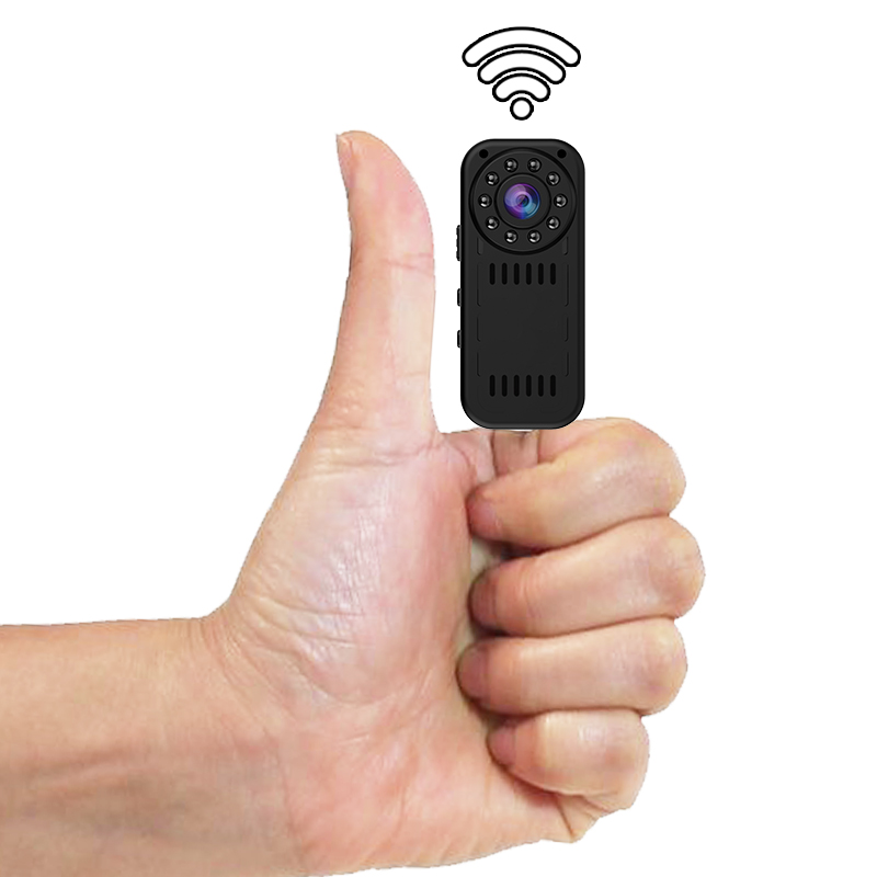 Mini Camcorder P2P Wireless IP Camera Video Recording Wifi Cam 1080P High Resolution Controlled by Smartphone Newest in 2017