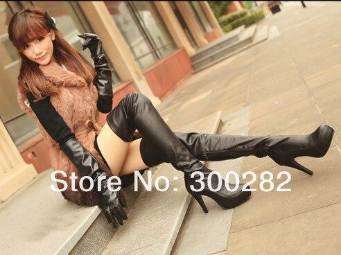 ФОТО 2013 hot selling Flat knee-high boots,Fashion stretch boots,11 cm high heels knee-high boots