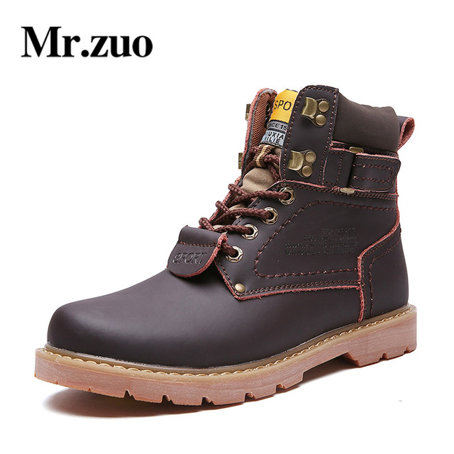 2018 winter  ankle boots men's sports shoes walking couple adult walking motorcycle designer rubber boots shoes large size