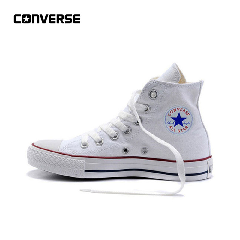 New Arrival Original Converse All Star Classic Unisex Skateboarding Canvas Skateboarding Shoes High top Anti-Slippery Sneaksers(China)