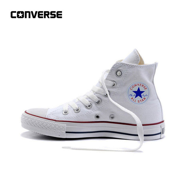 New Arrival Original Converse All Star Classic Unisex Skateboarding Canvas Skateboarding Shoes High top Anti-Slippery Sneaksers