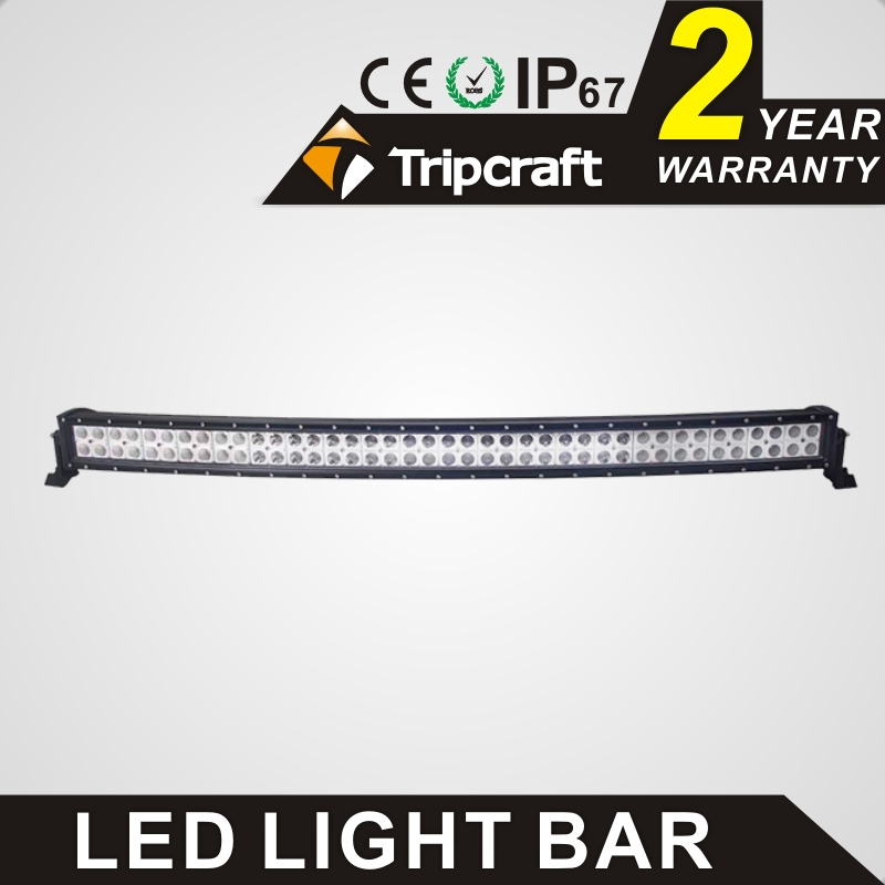 Promotion 41.5 Inch led offroad light bar 240W curved Led ramp Led light bar with high low beam function led car ramp lamp