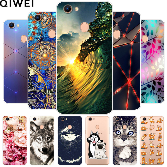 For OPPO F5 Case 6.0'' Fashion Soft TPU Cases For OPPO F5 Youth Silicone Back Cover for OPPO F5 A73 A73T Phone Cases Fundas Capa