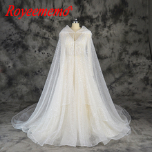 champagne and ivory full beading design wedding dress new luxury shining wedding  gown custom made wholesale 345a7137a6e4