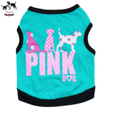 Lovely Dalmatians Pattern Dog Vest Summer Sleeveless T Shirt Ultrathin Breathable Cat Pet Underwaist Gilet Garment Teddy Clothes