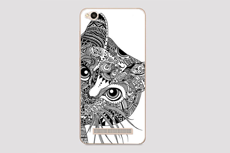 For Xiaomi Redmi 4A Case Cover Diy UV Painting Colored Tiger Owl Rose - Mobile Phone Accessories and Parts - Photo 3