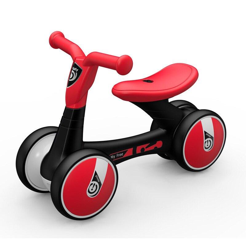 Balance enfant voiture sans pédales 1-3 ans cadeau bébé yo bébé jouet voiture marcheur coulissant