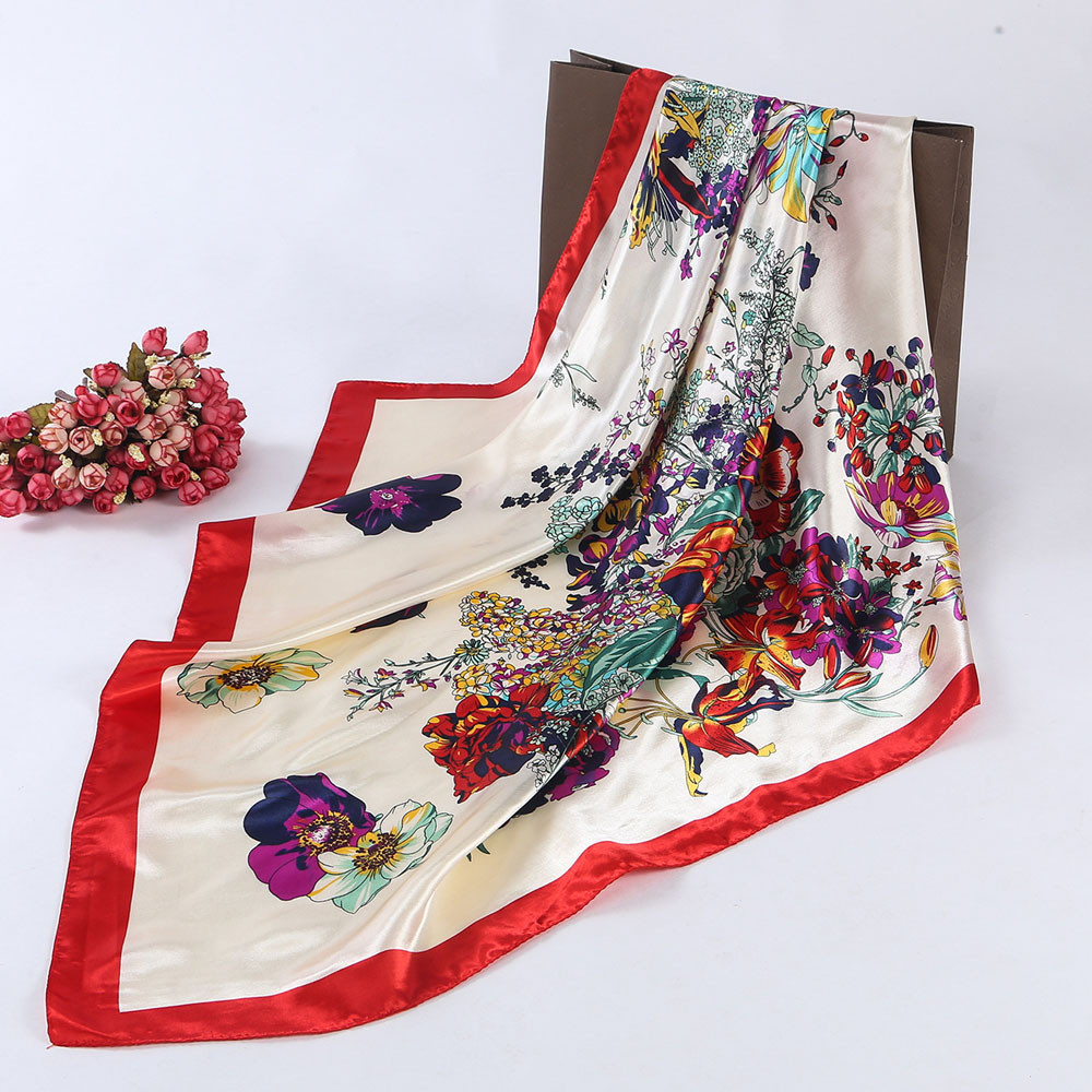 225f7bbfda2f Women Fashion Scarf Vintage foulard Leopard Painted Long Chiffon Wraps  Shawl Soft Scarves Soft Comfortable Coff c3-in Scarves from Women s  Clothing ...