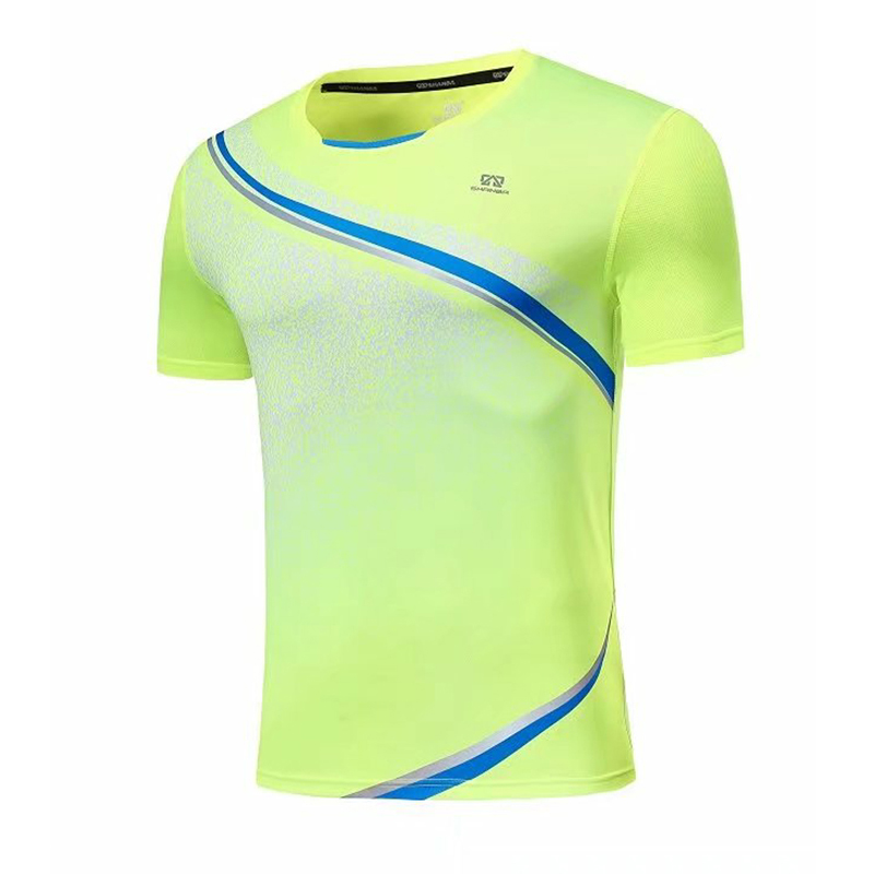 Quick Dry Compression Mens Short Sleeve T-Shirts Running Shirt Fitness Tight Tennis Soccer Jersey Gym Demix Sportswear