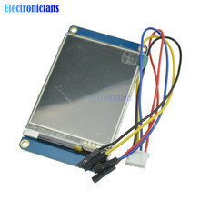 """2.8 """"pouces Nextion HMI Intelligent Intelligent USART UART série tactile TFT LCD Module panneau daffichage pour Arduino framboise Pi 2 A + B +"""