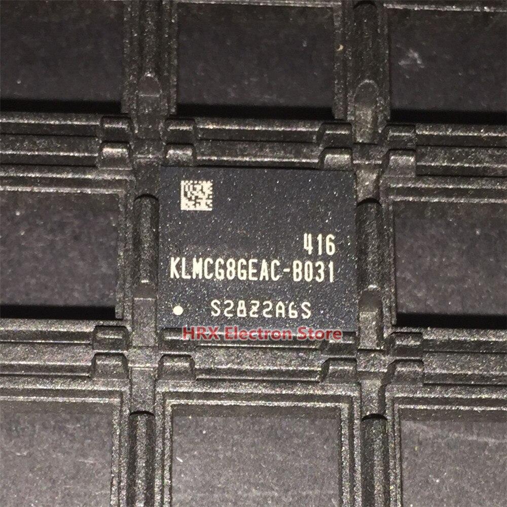 100% New original KLMCG8GEAC-B031 64G EMMC BGA KLMCG8GEAC B031 1pcs 2pcs 5pcs 10pcs 100% new original klmbg4webc b031 bga emmc 32gb memory chip klmbg4webc b031