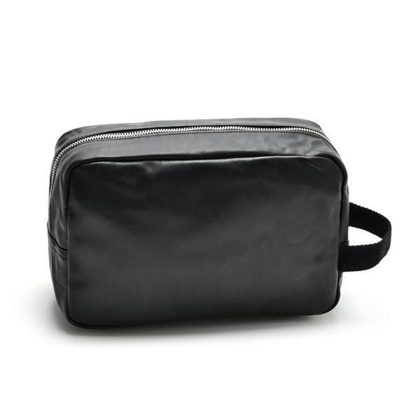 Luxury leather makeup bag