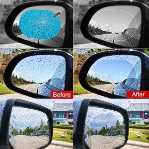 Image 3 - Auto anti Nebel Regendicht Hydrophoben Rückspiegel Film Für Toyota Corolla Camry Prado Avensis Yaris Hilux Prius Land Cruiser