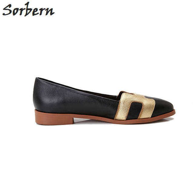 a46355814 Sorben Fashion Sheepskin Flat Shoes Women 2017 For Sale Slip On Autumn Women  Shoes Leather Casual Shoes Souliers Pour Femme-in Women's Flats from Shoes  on ...