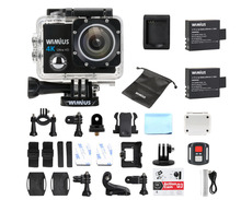 Wimius Q3 Action Camera 4K wifi HD 16MP Sport Mini Video Car Camcorder Go Waterproof 40M pro + 2.4G Wireless Remote Controller