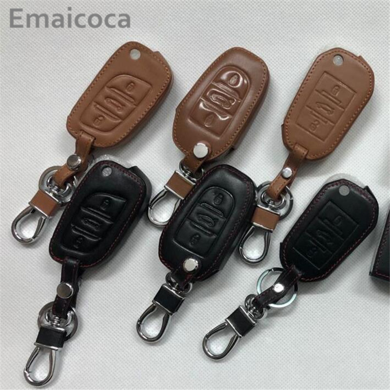 Emaicoca car <font><b>key</b></font> <font><b>cover</b></font> shell case For <font><b>Peugeot</b></font> 206 207 208 301 307 308 407 408 508 2008 3008 4008 <font><b>5008</b></font>/for Citroen DS-Series etc. image