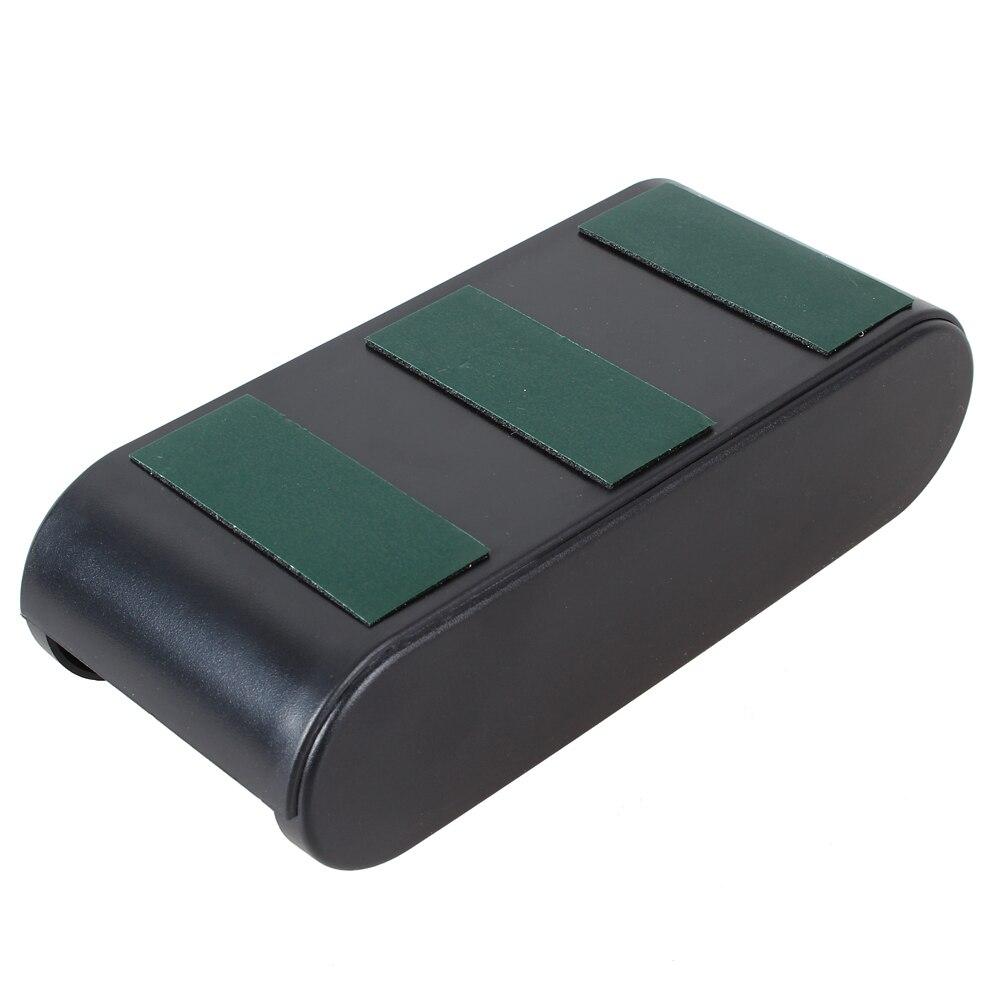 Авто Пластиковый Рулон Карманный чехол для монет функциональная коробка для хранения автомобильный ящик для хранения держатель стикер