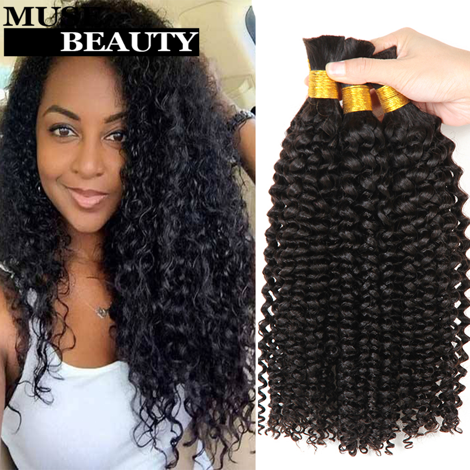 Human Hair Bundles For Braiding