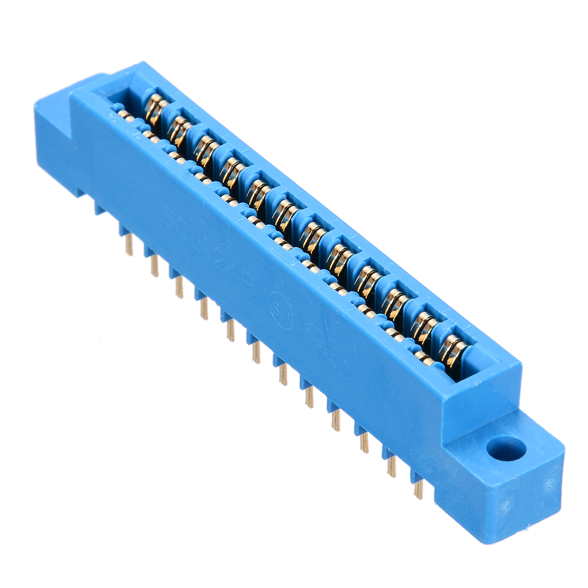 1pc Card Edge Connector 3.96mm Pitch Cutting Dies PCB Slot 2x6 Row 12 Pin Solder Socket Wire Solder Type 805 Series