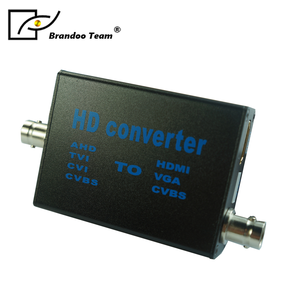 AHD to HDMI converter, AHD/CVI/TVI/CVBS to HDMI Converter,From Brandoo,free shipping ahd to hdmi converter ahd cvi tvi to hdmi converter with 1ch loop video converter 1080p ahd cvi tvi repeater