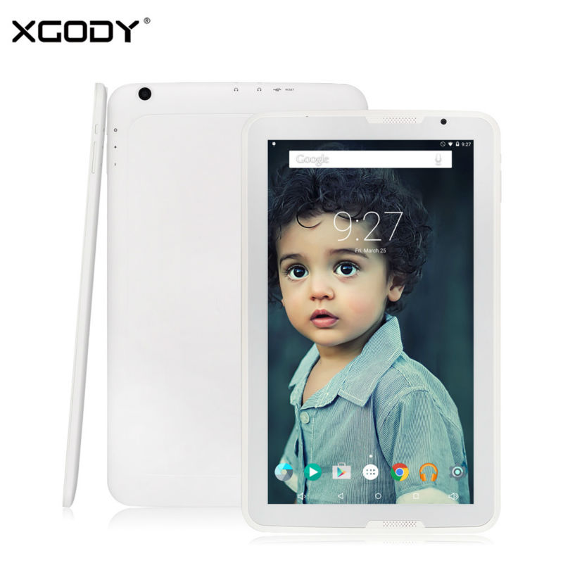 XGODY Android 5 1 Tablet PC 10 6 Inch 1GB RAM 16GB ROM Quad Core Octa
