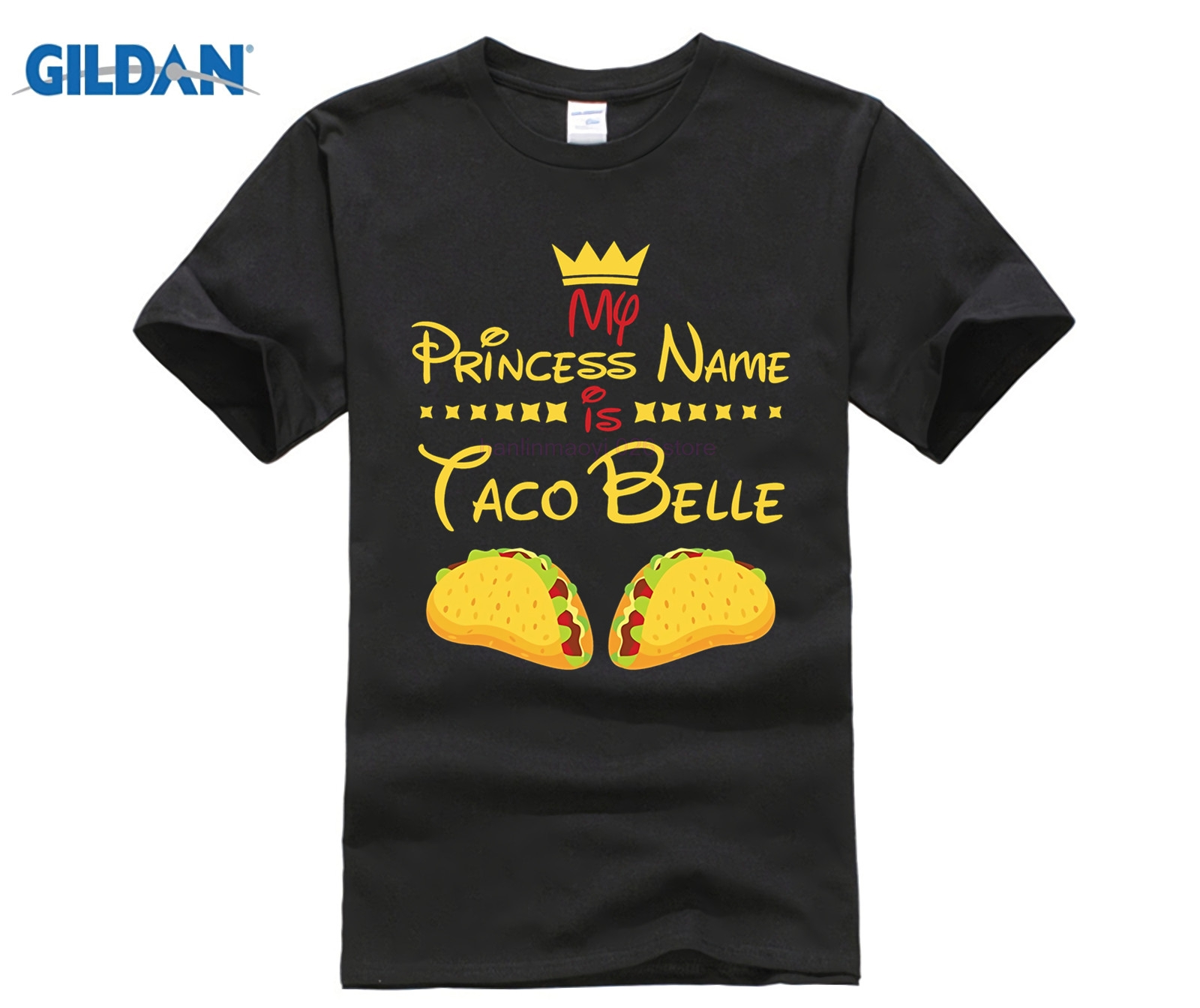 5c32834f PRINCESS NAME IS TACO BELLE T SHIRT Funny Food Humor Gift-in T-Shirts from  Men's Clothing on Aliexpress.com | Alibaba Group