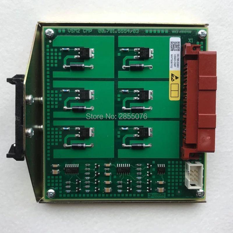1 Piece Hengoucn Electric Board VSM2-CMP 00.781.5554/03 00.785.0383 Hengoucn Printing Machinery Parts1 Piece Hengoucn Electric Board VSM2-CMP 00.781.5554/03 00.785.0383 Hengoucn Printing Machinery Parts