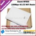 Chegada nova original 150 mah xiaomi 7800 150mbps 4g lte router wi-fi banco de potência apoio tdd e fdd mf855 rede banda
