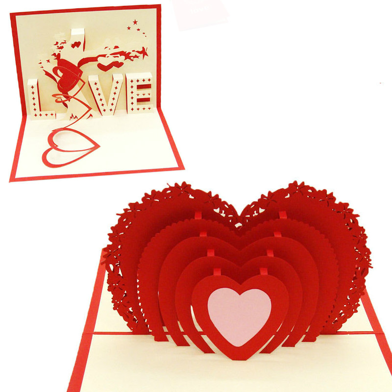 Greeting Card Pop 3D Cards Lovepop Night Before Christmas Candle Pop Up Card