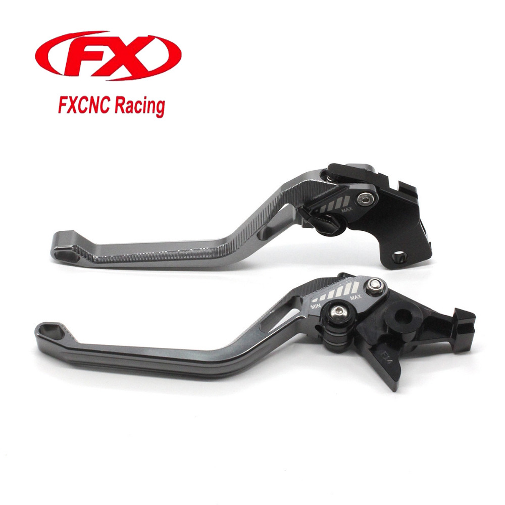 FX Aluminum New Adjustable 3D Rhombus Motorcycle Brake Clutch Lever For Triumph SPEED TRIPLE 675 SCRAMBLER BONNEVILLE THRUXTON