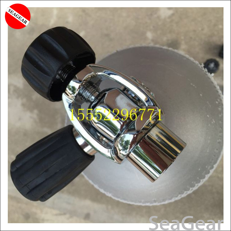 Diving bottle Transfiller Yoke Adapter tank fill connector G5 8 Deluxe DIN to Yoke Converter 17mm