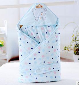 Новый хлопок детское одеяло новорожденный конверт детское постельное белье пеленание Infantil Cobtor 100% хлопок детское одеяло 85 * 85