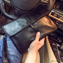 2020 New Arrival Men Envelope Style PU Bag  Large capacity Male Clutch Bag Leather for Business/Party Free Shipping