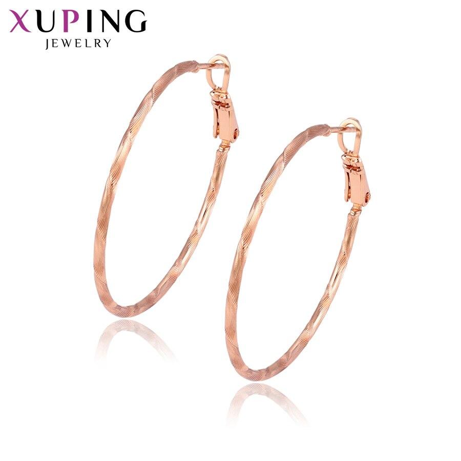 11,11 сделок Xuping модные элегантные серьги из розового золота Цвет покрытием для Для женщин Рождество Jewelry подарки S83, 3-95436