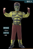 Halloween Cosplay Clothing Kids The Hulk Costume Super Hero Costume XS L For 3 12 Years