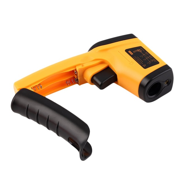 Nice Non-Contact LCD IR Laser Infrared Digital Temperature Thermometer Gun(Size: GM320 Non-Contact) 2