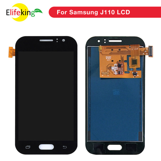 J111f LCD For Samsung Galaxy J1 Ace J110 SM-J110F J110H J110FM LCD Display Touch Screen Digitizer Assembly Adjustable Brightness