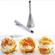 2 Sizes Cup Cake Cream Puff Icing Piping Nozzle Tips Sugarcraft Fondant Pastry #184