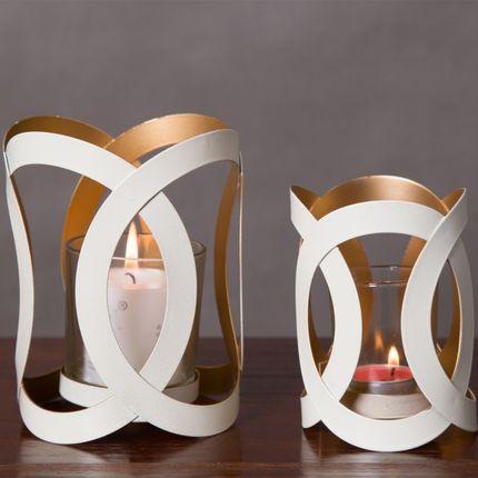 Ins creative accueil salon couvercle en verre décoration bureau de bureau en fer forgé chandelier armoire à vin décoration artisanat ornementales - 2
