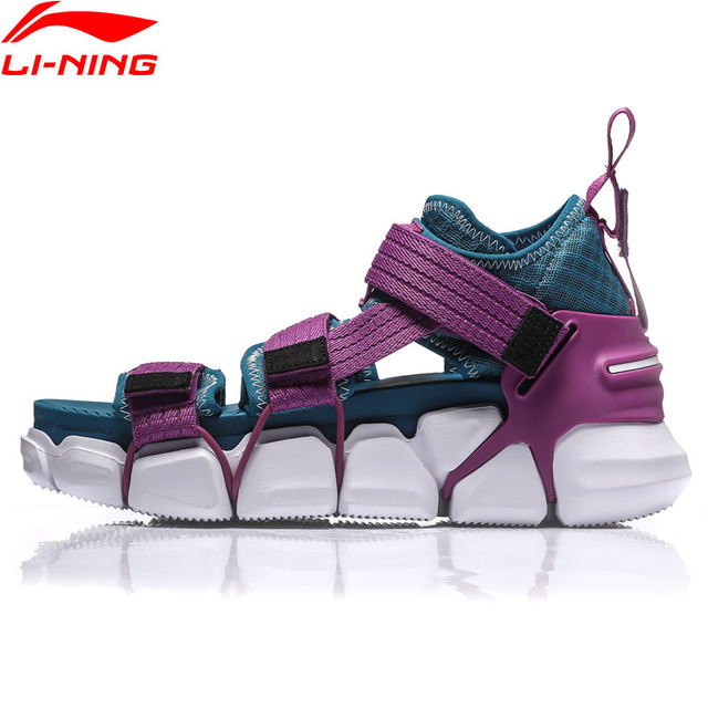 Li-Ning Women PFW MIX II PLATFORM Leisure Shoes Breathable Wearable LiNing Light Sport Shoes Sneakers AGLN252 YXB227