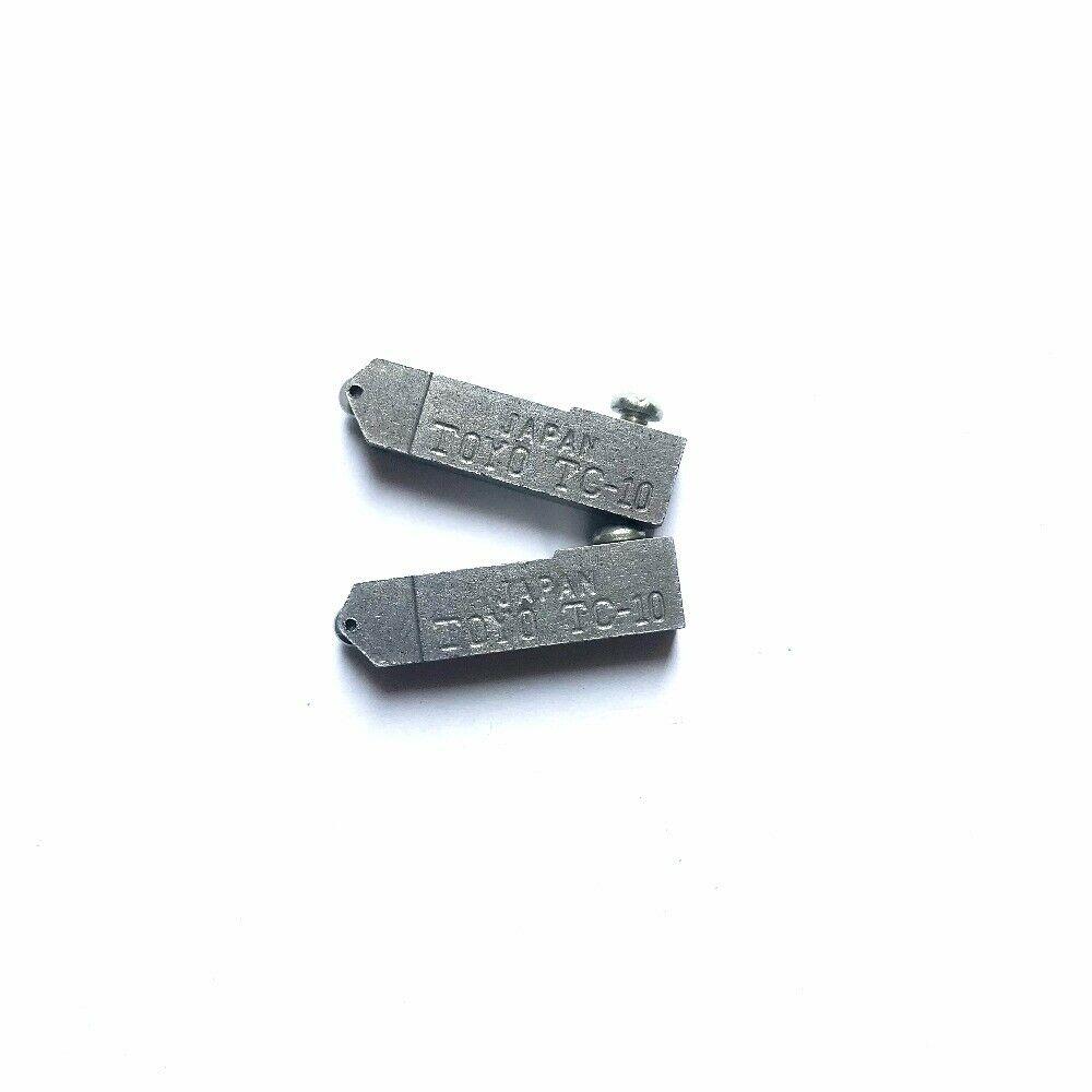 10pcs/lot Replacement Narrow Glass Cutter Head Toyo TC-10 for 2-8mm glass shape cutting