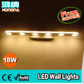 Free Shipping Bathroom/Dressing Room LED Mirror Lights 18W LED Wall Lights With Antifoging Ability
