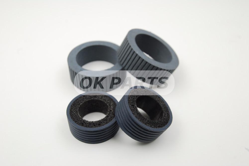 PA03540-0001 PA03540-0002 Brake and Pick Roller for Fujitsu 6130 Fi-6130 Fi-6130Z Fi-6230 Fi-6140 Fi-6240 Fi-6125 Fi-6225 IX500 pa03656 e958 pa03656 e976 for fujitsu ix500 pick roller and brake roller assy